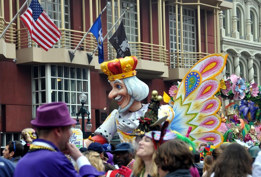 Carnavales en Nueva Orleans