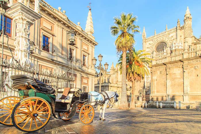 Mejores destinos para viajar en Marzo Sevillas