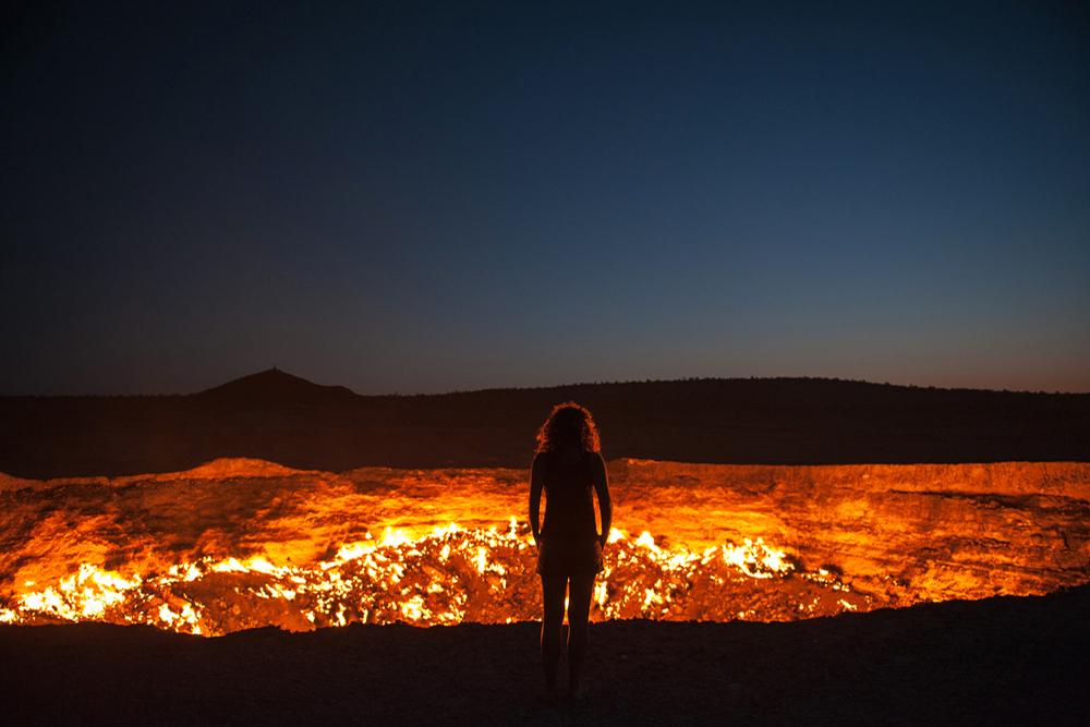 Pozo de Darvaza, Turkemistan