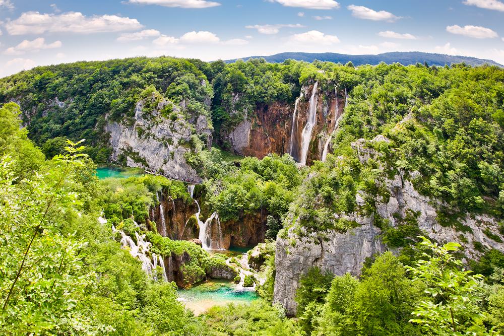 Lagos de Plitvice de Croacia