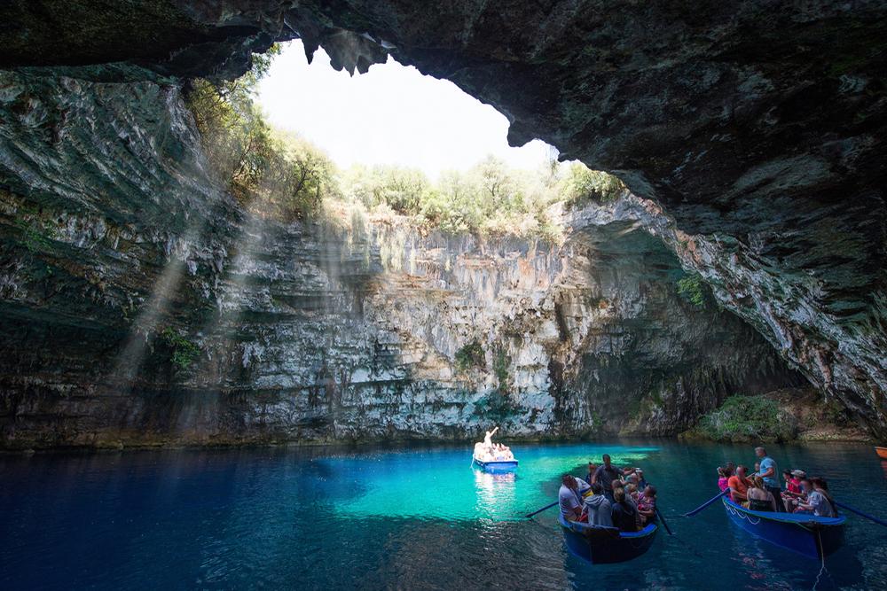 Cueva Melissani, Cefalonia