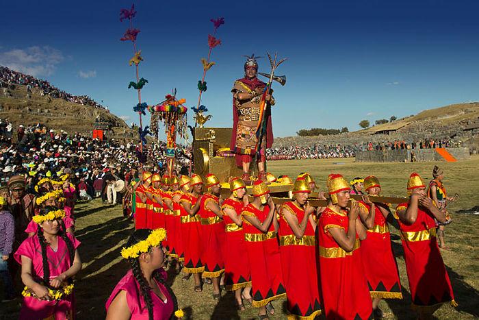 festival inti raymi en peru