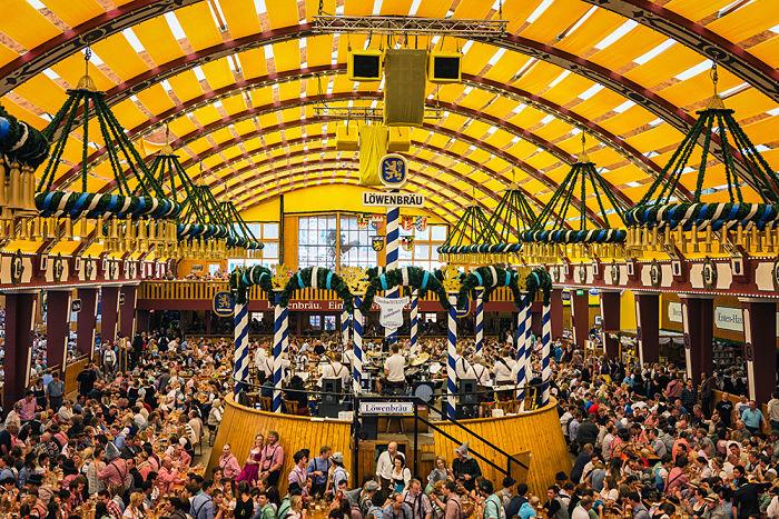 Festival Oktoberfest en Alemania