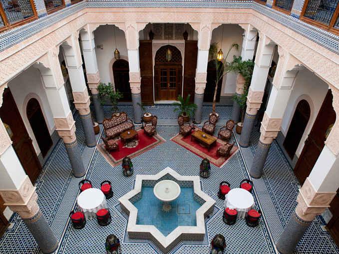 Alojamiento Marruecos Riads