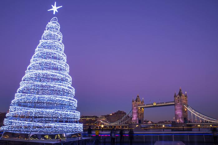 Viajar a Londres es diciembre