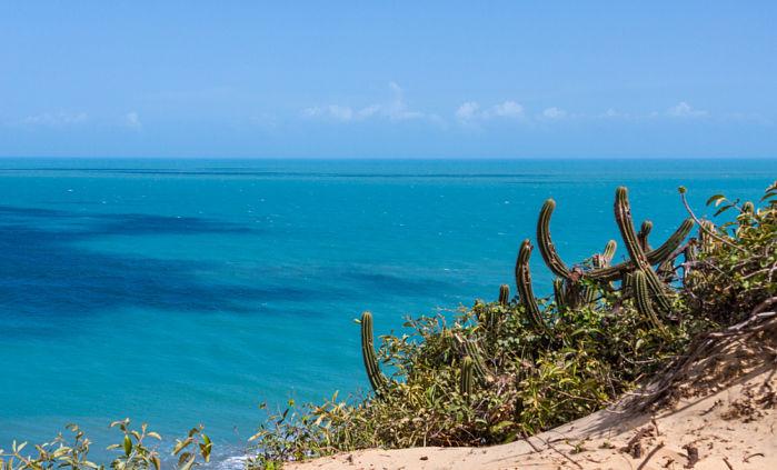 Praia de Jericiacoara Brasil