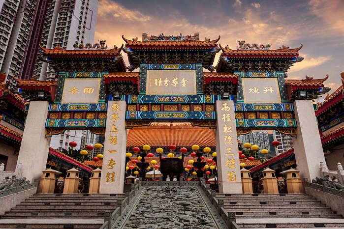 que hacer en Hong Kong Templo Wong Tai Sin