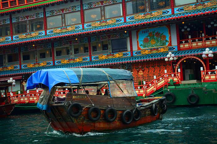 Que hacer en Hong Kong mercado flotante