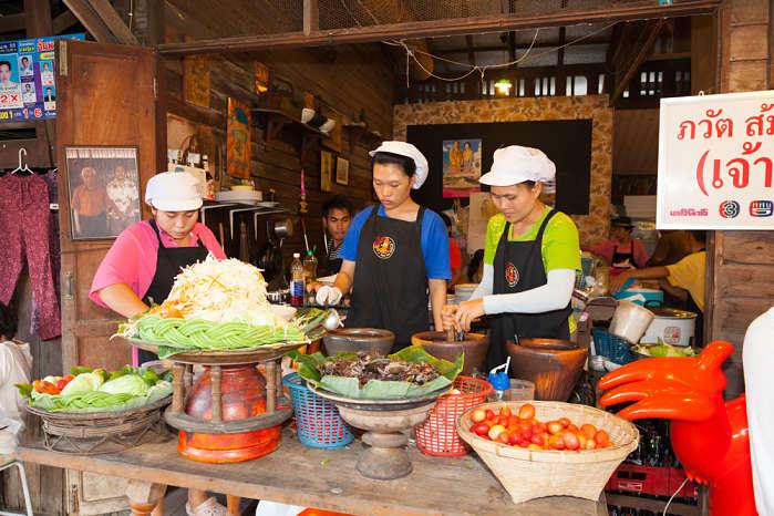 Turismo gastronómico Tailandia