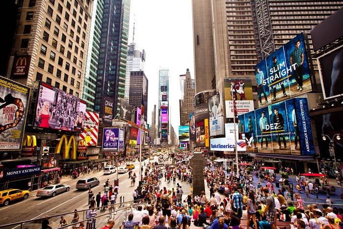 Nueva York en 7 días Times Square