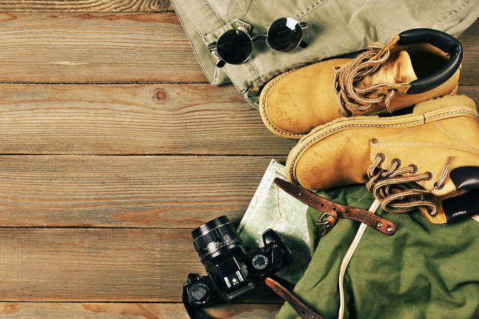 Zapatos para viajar de mochillero