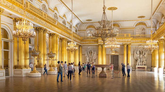 Palacios Imperiales de Peterhof