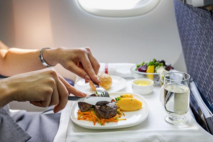 comida avión