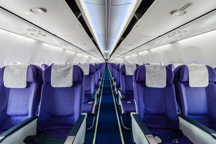 Donde sentarte en un avión