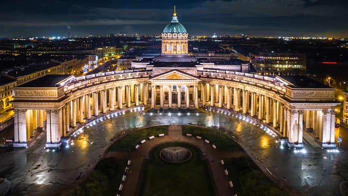 Catedral nuestra señora de Kazán San Petersburgo