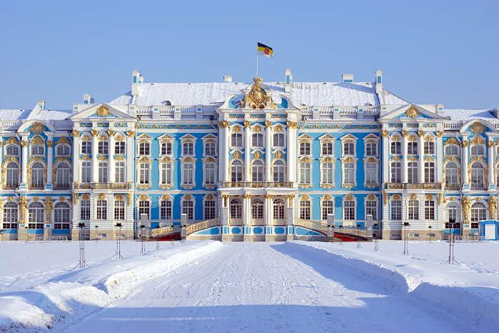 Palacio Catalina y Tsárskoye Seló