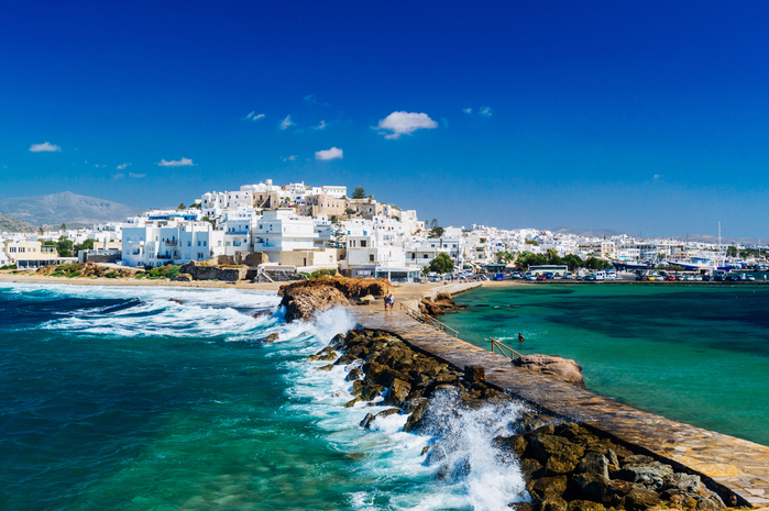 Isla Naxos en Grecia