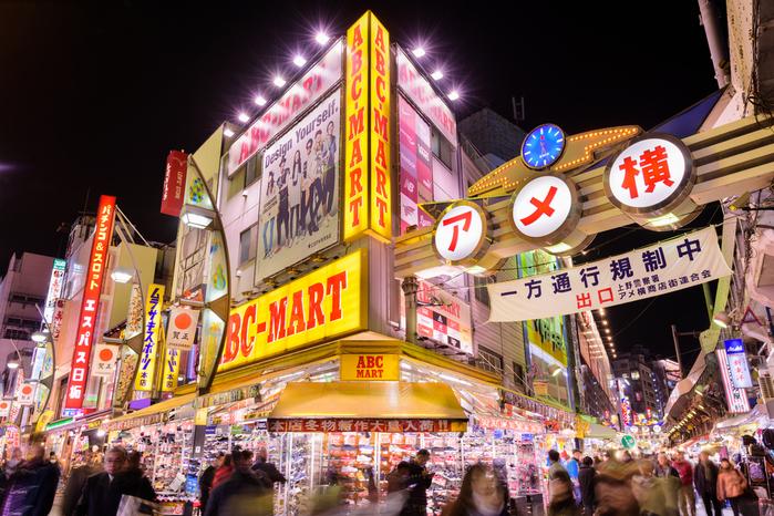 Ameyoko Market tokio