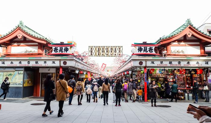 Nakamise Street Tokio
