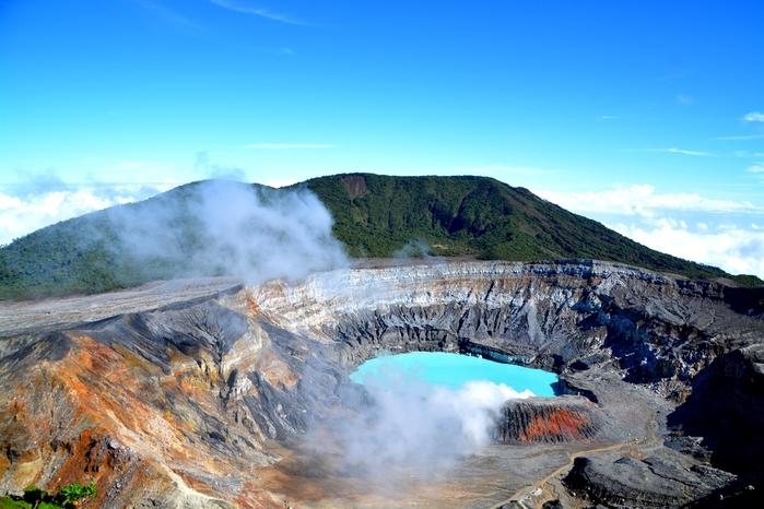 Volcán Poas de Costa Rica