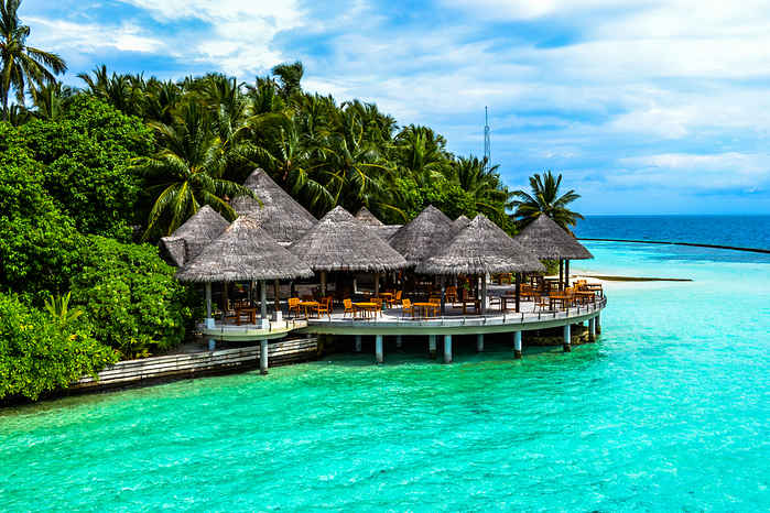 Luna de miel en las Islas Maldivas