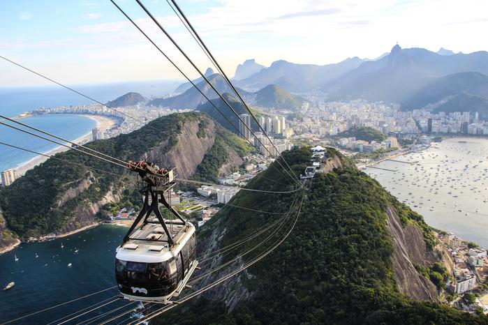 Viajar a Brasil en enero