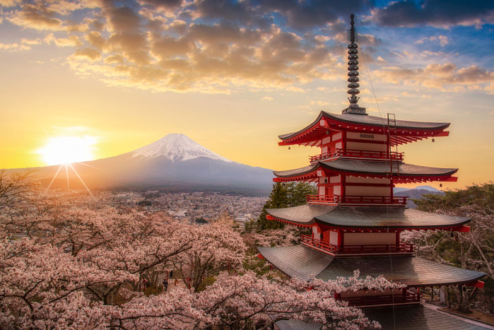 ¿Dónde viajar en enero? Japón