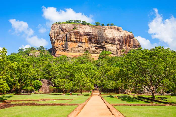 Sirigiya. Que ver en Sri Lanka