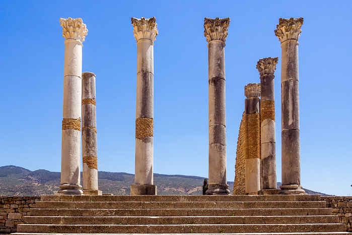Volubilis, que ver en Marruecos