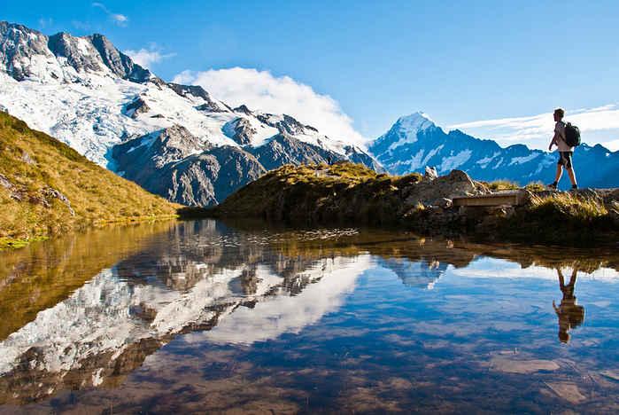Viajar solo a Nueva Zelanda