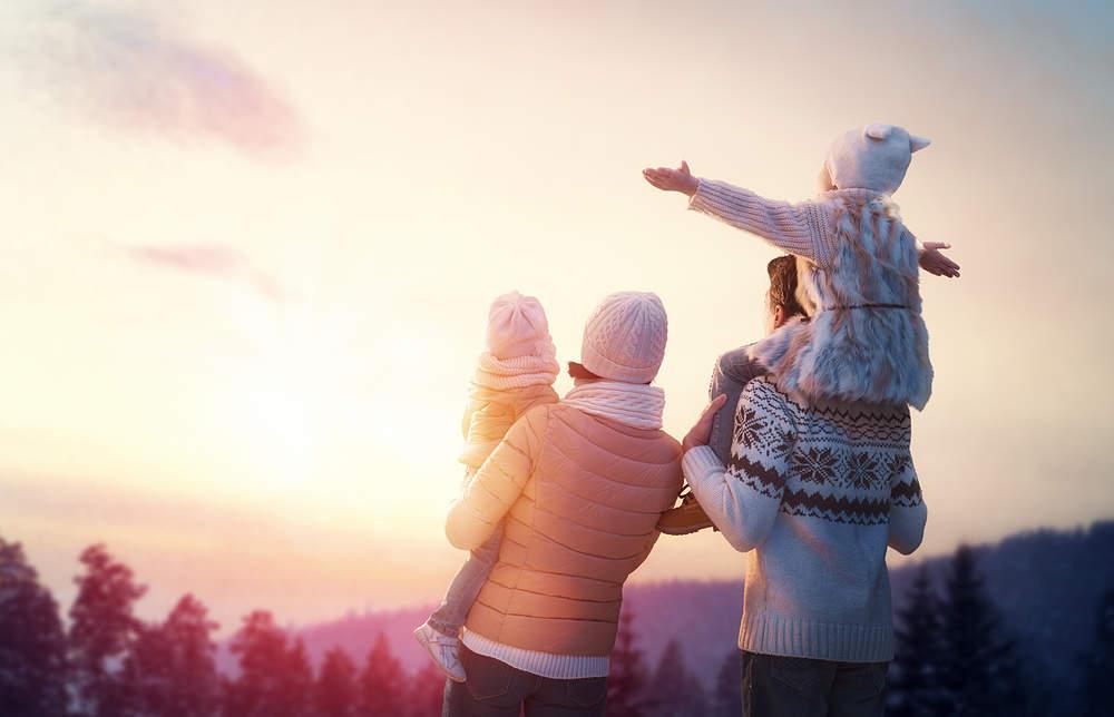 ¿Donde viajar con niños en inverno?