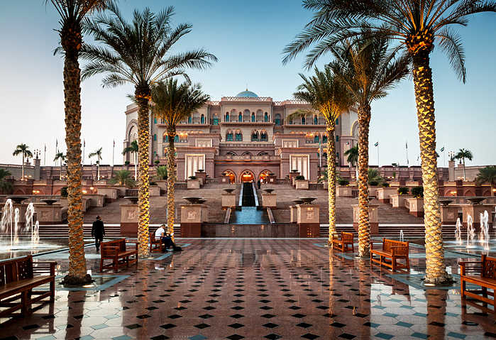 ¿Que ver en Abu Dhabi? Hotel Emirates Palace