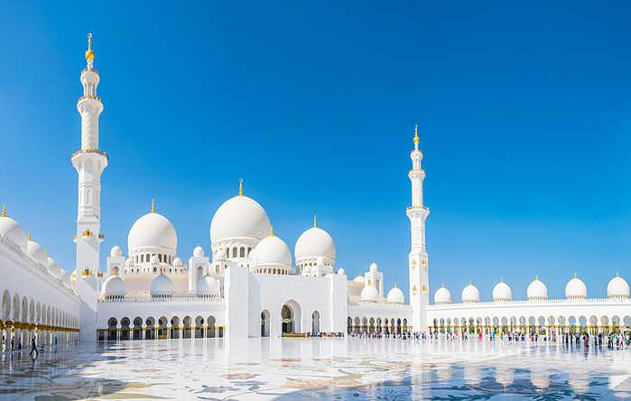 ¿Que ver en Abu Dhabi? Mezquita Sheikh Zayed
