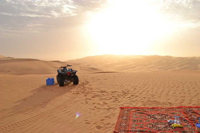 ¿Que ver en Abu Dhabi? Un safari por el desierto