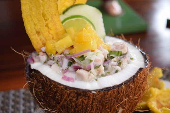Ceviche en Panama