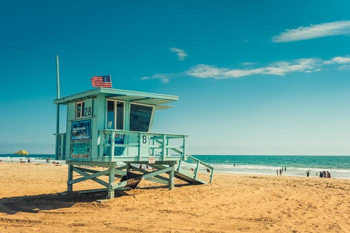 caseta de vigilancia en venice beach