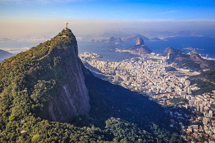 vistas aéreas de Rio de Janeiro