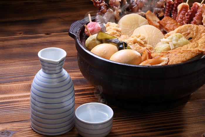 oden con sake