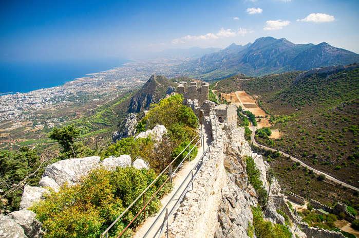 Castillo San hilarión en Chipre