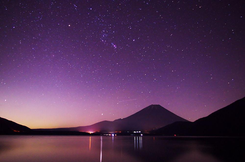 Lago Motosuko Monte Fuji