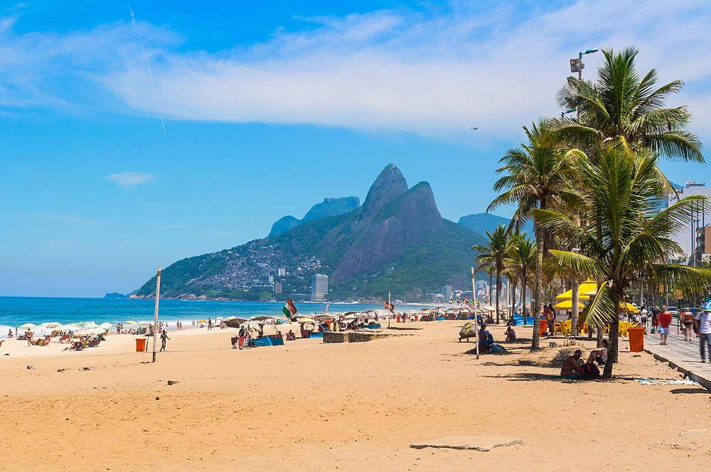 Playa Ipanema Río de Janeiro