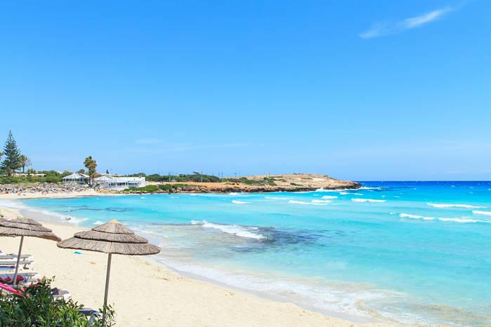 Playa Nissi en Chipre