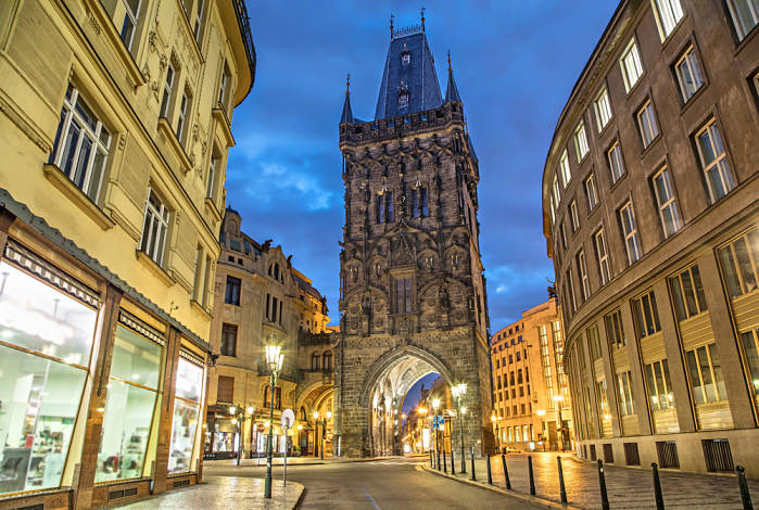 torre de Polvora en Praga