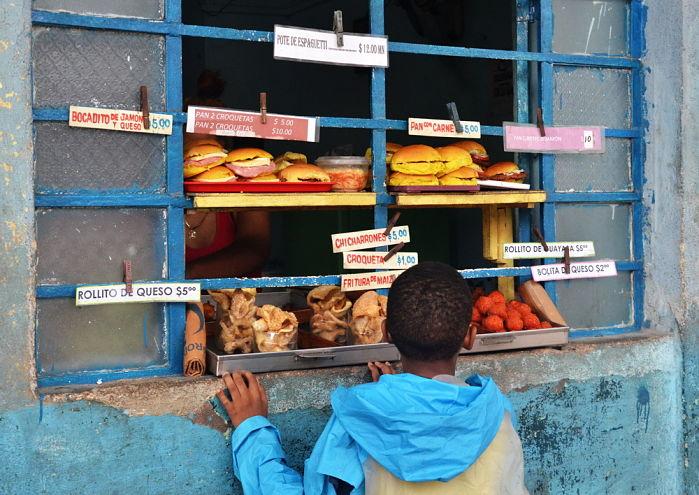 comida en cuba