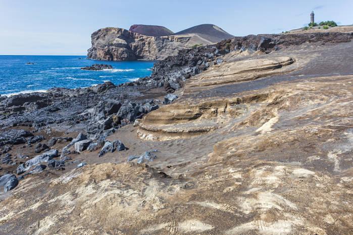 isla faial volcán capelinhos