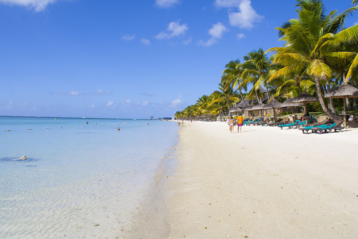 playa troux aux biches isla mauricio