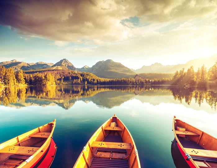 Donde viajar en noviembre Montes Tatras