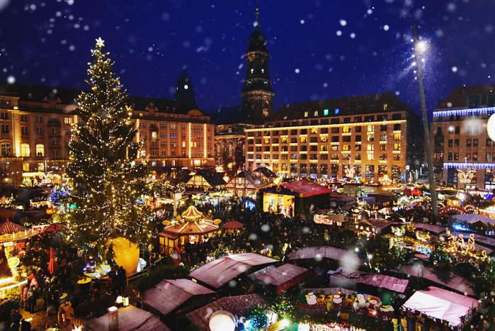 mercado navideño dresden