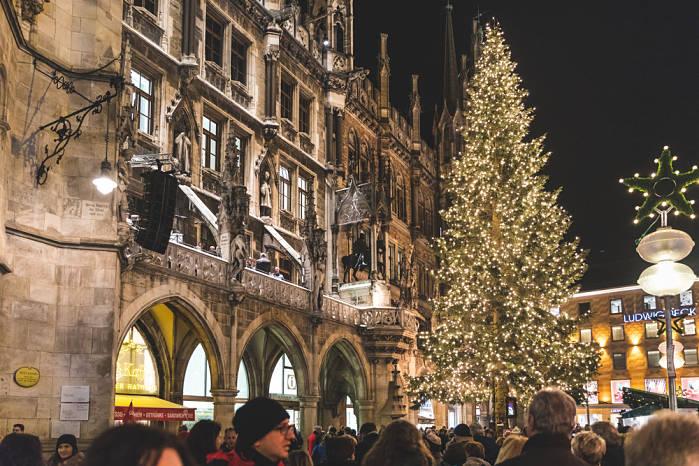 mercado navideño munich