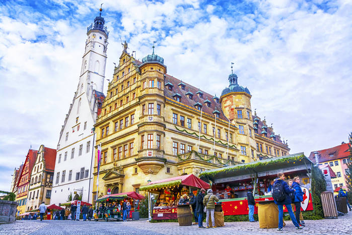 mercado navideño rothenburg ob der Tauber